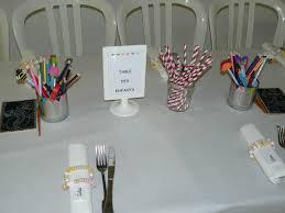 table enfant mariage mariage part 1 la déco de table rock n baby