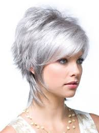 funky hairstyle for silver hair 10 best grey wigs for older women images on pinterest grey hair