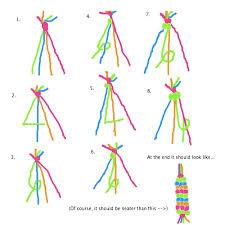 easy bracelet tutorials images 54 string bracelet designs step by step how to make colorful jpg