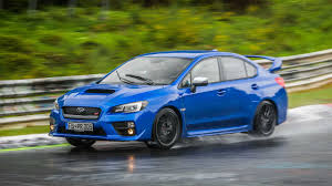 subaru sti 2017 2017 subaru wrx sti on the nurburgring motor1 com photos