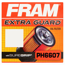 fram extra guard oil filter ph6607 walmart com