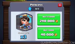 gold reward and legendary cards in shop clash royale guides