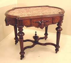 victorian marble top end table 67 best victorian tables images on pinterest mesas victorian era