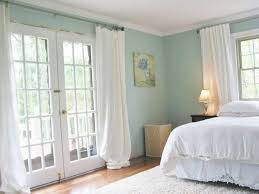 Cream And White Curtains Bedroom Appealing Cool Blue Bedroom Mixed With White And Cream