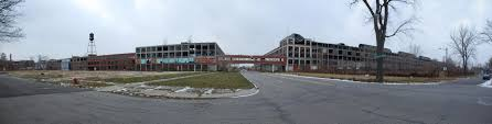 largest abandoned factory in the world the packard factory
