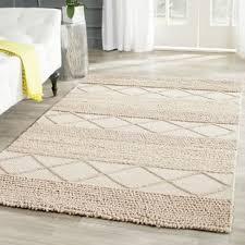 wool rug modern contemporary chunky braided wool rug allmodern
