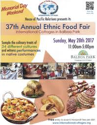 Balboa Park Map San Diego by Hpr Ethnic Food Fair