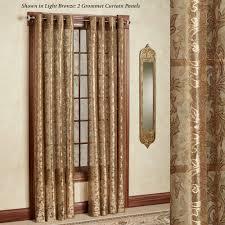 Lace Trim Curtains Royal Lace Grommet Curtain Panels