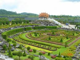 Nong Nooch Tropical Botanical Garden by Nong Nooch Tropical Garden And Pattaya Floating Market Chill Pai