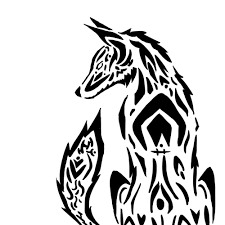 tribal wolf practice by dragonlover4ever on deviantart