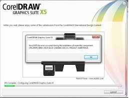 coreldraw x5 not starting error 1935 on installing corel draw graphics suite x5 techyv com