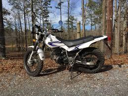test ride yamaha u0027s tw200 dual sport dirt hammers