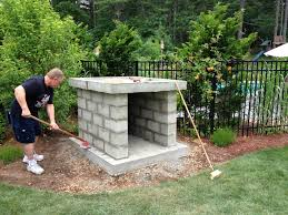 slaughter natural stone wood fired oven in rhode island