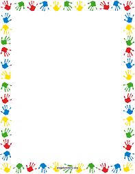 halloween border vector handprint border watermarked jpg 2550 3300 pagina randen