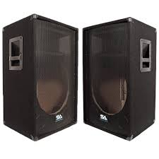 empty 15 inch speaker cabinets pair of empty 15 inch pa speaker cabinet empty 15 inch dj speakers