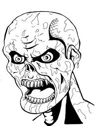 scary clown coloring pages festival collections face free dezhoufs