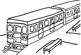 passenger train coloring pages sketch coloring page
