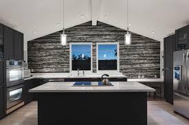 Gray Tile Kitchen - grey wood grain tile pattern splintered ash by artaic