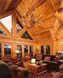 Two Story Log Homes by Luxurious Log Home On Private Lake Vrbo