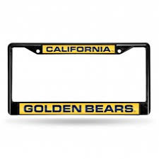 uc berkeley alumni license plate frame customize california golden bears license plate frames by auto plates