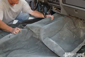 fox mustang interior restoration how to replace fox carpet mustang monthly magazine