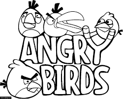 angry birds printable coloring pages coloring