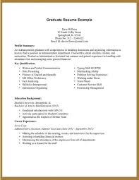example of resume for student graduate student resume example