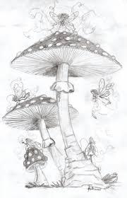 mushroom faeries dragon arts deviantart