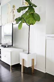 wooden mid century plant stand diy u2013 a beautiful mess