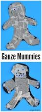 gauze mummy craft fun halloween crafts craft and october