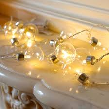 battery operated clear festival lights