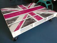 Union Jack Pallet Table The by The Conversation Piece Workshop Union Jack Pallet Coffee Table Sofa