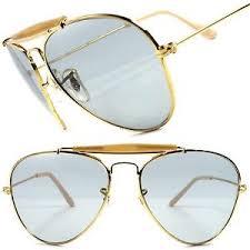 mens light tint sunglasses gold light tint lenses classic vintage retro 80s fashion mens womens