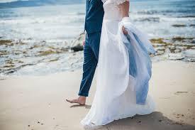 ombré wedding dress a beautiful blue ombre wedding dress for a barefoot wedding