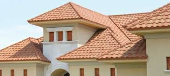 Barrel Tile Roof Gerard Usa Metal Roofing Premium Stone Coated Steel Roofing Systems