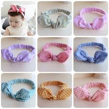 how to make baby hair bands 1 pcs lovely hair accessories girl kids bow hairband turban
