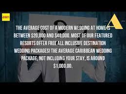 how much is a destination wedding how much is the average destination wedding