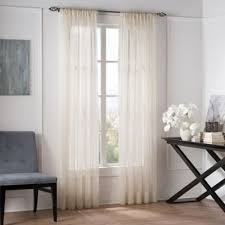 Bed Bath And Beyond Curtains And Drapes Buy Privacy Sheer Curtain Panels From Bed Bath U0026 Beyond