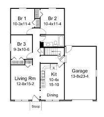 8 small ranch home floor plans simple small house floor plans
