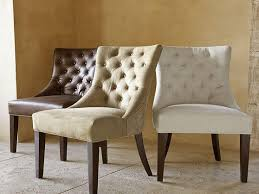 Tufted Dining Chair Set Furnitures Tufted Dining Chairs Fresh Uptown Leather Velvet