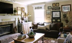 A Sweet Southern Family Room With Vintage Style Uncommon Designs - Family room styles
