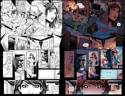 comic book color preview comic the lucid on behance