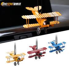buy vintage airplane model car hanging pendant car ornaments car
