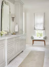 Bathroom Vanities Grey by Pale Gray Bathroom Vanity Love The Soft Roman Shade And Little