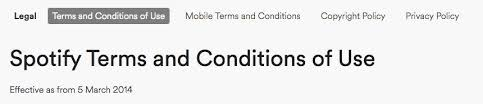 Terms And Conditions Of Use terms of use u0026 privacy policy for saas termsfeed