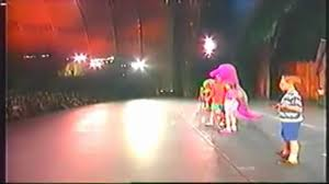Barney Goes To Videos Vidoemo by Barney In Concertoriginal1996verisonpart1 Youtube Rock With