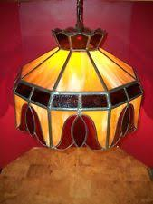stained glass hanging lamps ebay