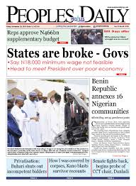 friday november 20 2015 edition by peoples media limited issuu