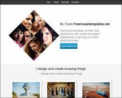 latest premium and free adobe muse templates