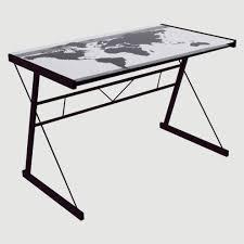 plateau verre bureau plateau verre bureau but avec leo bureau valsecchi en bois plateau